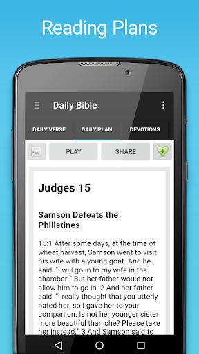 Daily Bible Screenshot