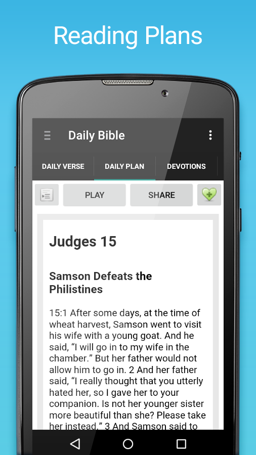 Daily Bible- screenshot