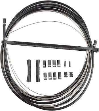 SRAM Stainless Steel Shift Cable and Housing Kit - Road/MTB, 4mm, Reinforced Linear Strand alternate image 0