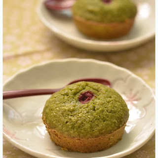 Matcha And Raspberry Friands