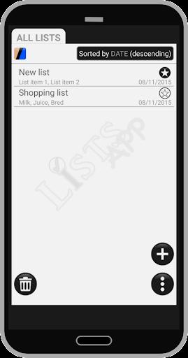 Lists App