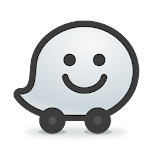 Waze - GPS, Maps, Traffic Alerts & Live Navigation Icon