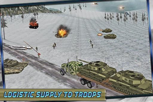 軍戦場輸送3D