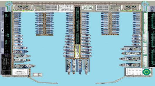 Proyectan un puerto deportivo de lujo para grandes yates en Mojácar