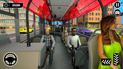 City Passenger Coach Bus Simulator screenshot 7