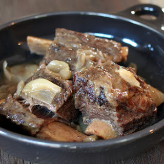 Slow Cooker Short Ribs With Cider