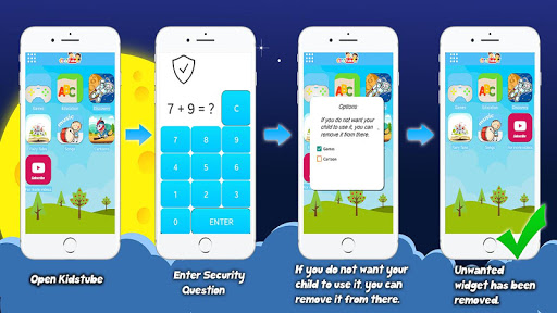 KidsTube - Safe Kids App Cartoons And Games 1.9 screenshots 2