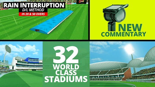 [Removed] World Cricket Championship 2 MOD (Unlimited Coins/Unlocked) 1