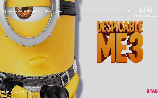 Despicable Me 3 Wallpapers for New Tab