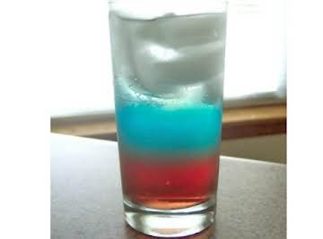 Red White & Blue Drink