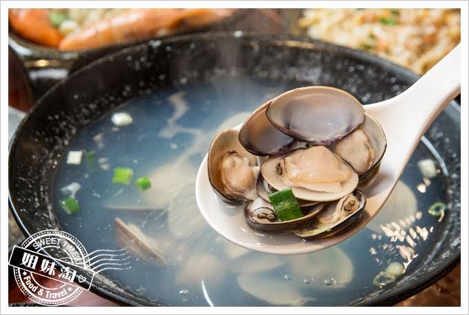 墾丁蝦匠活蝦料理蛤蠣湯