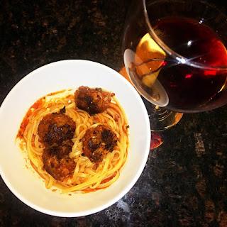Pasta With Meatless Beyond Burger MeatBalls (Vegan).