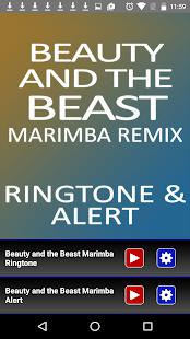 Beauty and the Beast Marimba - náhled