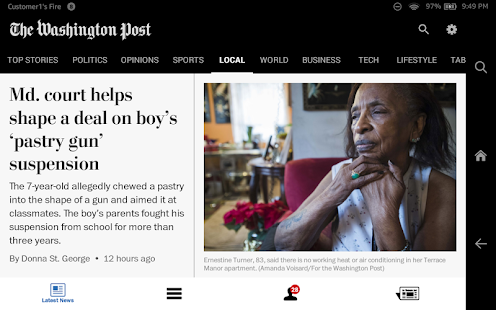 The Washington Post Classic- screenshot thumbnail