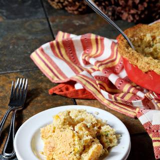 Creamed Cornbread Casserole