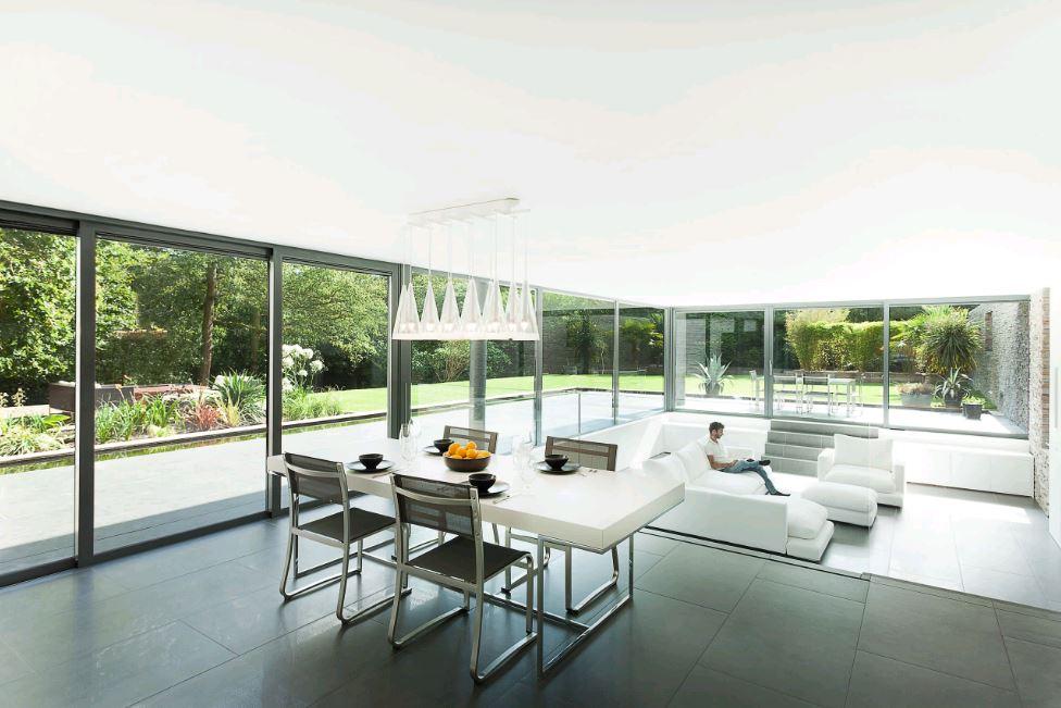 Tạo không gian mở, gần gũi với thiên nhiên cho ngôi nhà