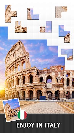 Jigsaw Journey u2013 relajarse, viajar y compartir capturas de pantalla 8