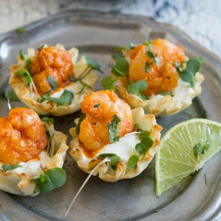 Tequila Lime Shrimp Phyllo Cups Recipe
