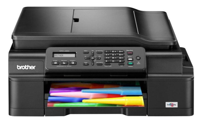 Printer Brother MFC-J200 Review Spec harga Indonesia