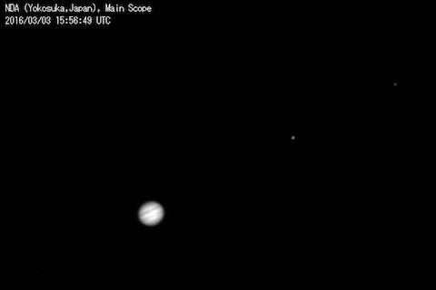 木星とガリレオ衛星