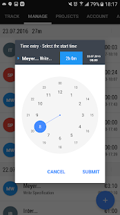 Time and Bill - Time Tracking- screenshot thumbnail