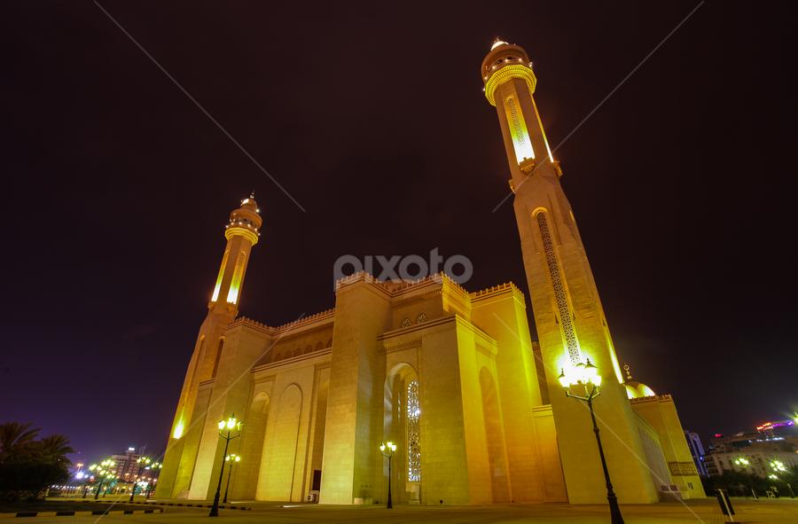 The Masjid by Ahmad Azaharuddin Omar - Buildings & Architecture Places of Worship ( muslim, juffair, majestic, mosque, bahrain )