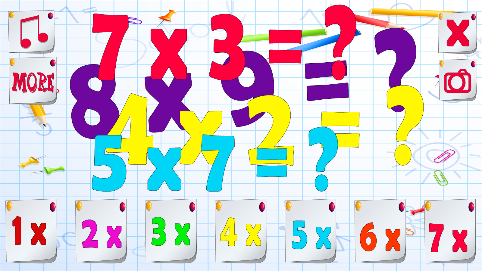 Multiplication table for kids android apps on google play multiplication table for kids screenshot gamestrikefo Images