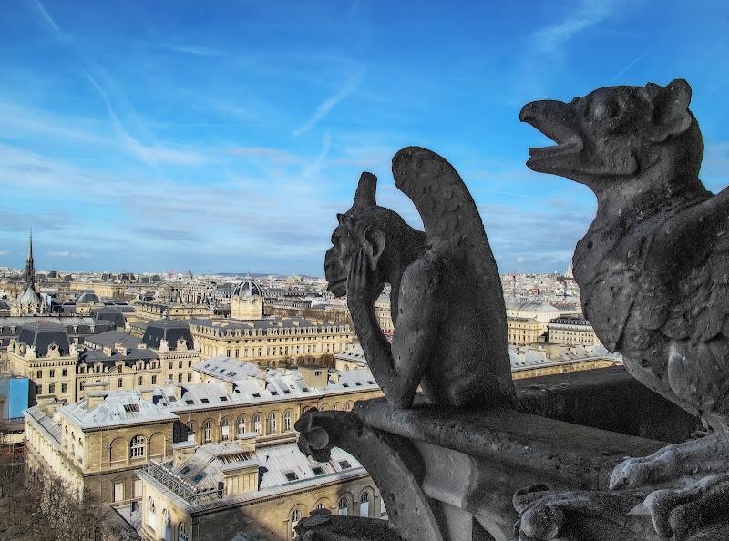 Parigi da Notre-Dame di angart71