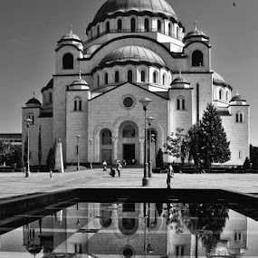 St Sava Temple, Belgrade by Vladimir Jablanov - Buildings & Architecture Public & Historical