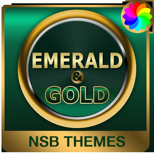 Emerald Gold Theme for Xperia