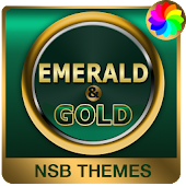 Emerald Gold Theme for Xperia