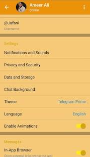 Telegram Prime - náhled