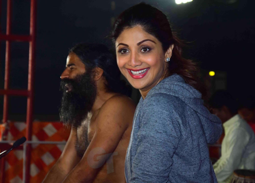 image Baba Ramdev and Shilpa Shetty