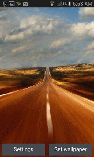 Highway Live Wallpaper