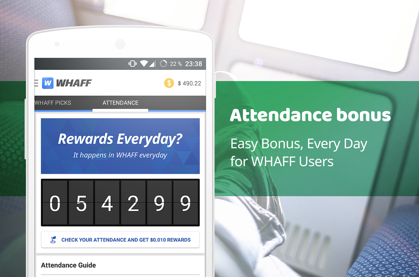 WHAFF Rewards – скриншот