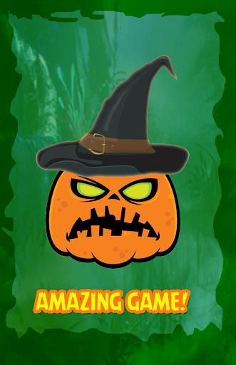 Halloween hat hidden pumpkin