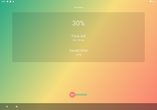 Screenshot for Intelligent Battery Saver in United States Play Store