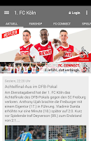 Screenshot of 1. FC Köln