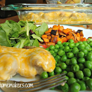 Simple Cheesy Baked Chicken