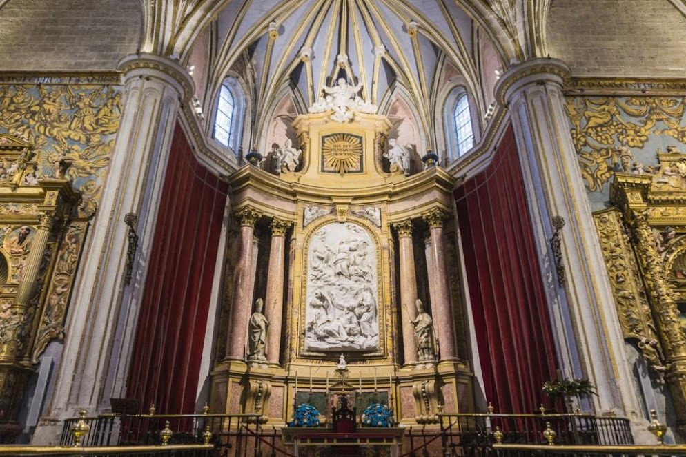 Interior de la Catedral de Zamora.