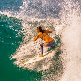 by Keith Sutherland - Sports & Fitness Surfing ( surfer, surfing )