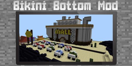 Bikini Bottom Mod for Minecraft 2.4 screenshots 1