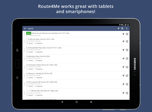 Route4Me Route Planner 4.3.8 screenshots 7
