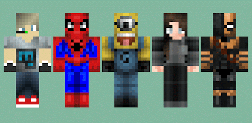 descargar skin para minecraft pe android