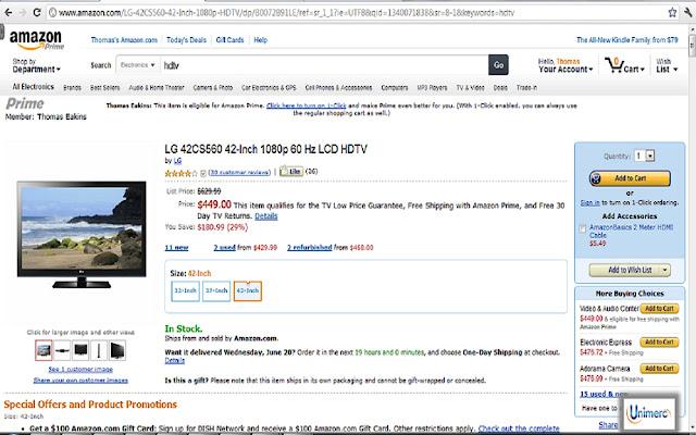 Unimerc - Amazon Price Tracker