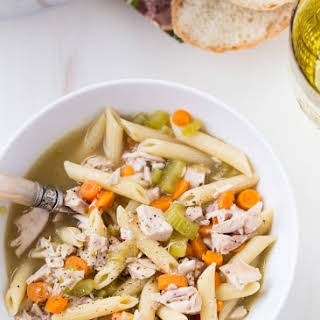 Penne Chicken Soup.