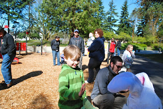 Photo: 2012 egg hunt and park playground and spray - 53