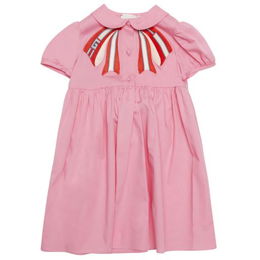 Primary image of Gucci Baby Bow Shirt Dress
