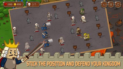 Tiny Tower Defense:Offline Defend Castle Game  screenshots 1