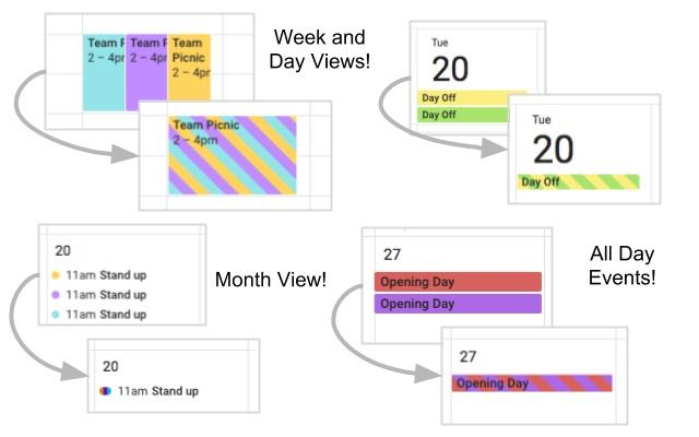Event Merge for Google Calendar™